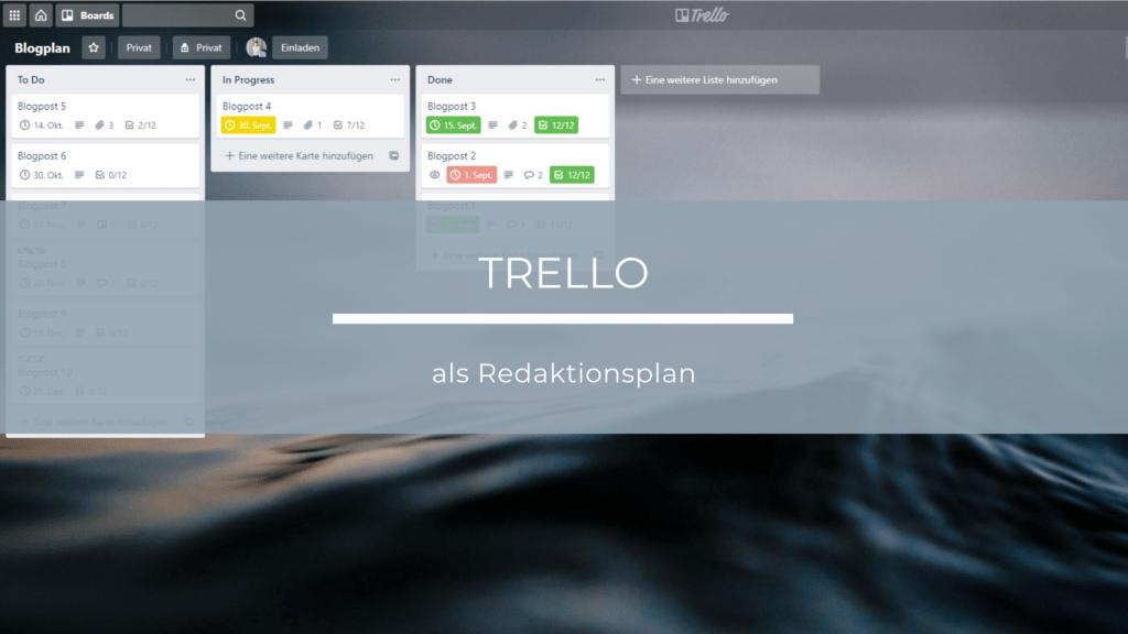 Trello als Content-Plan nutzen - Artikelbild