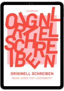 E-Book Kreativ schreiben Julia Wißmeier