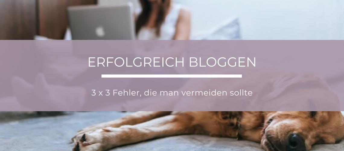 Fehler, die man beim Blog schreiben vermeiden sollte, um gefunden und gelesen zu werden
